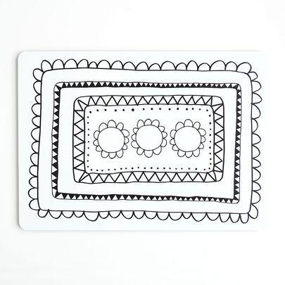 Aura-kakkualusta voileipäkakulle | Aura rectangular cake plate | www.käpynen.fi