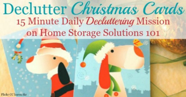 Donate Old Christmas Cards 2020 What To Do With Used Christmas Cards: Declutter, Upcycle Or Donate