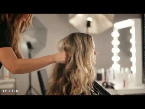 How to: løse, romantiske krøller på 1 - 2 - 3 (romantic curls) - YouTube