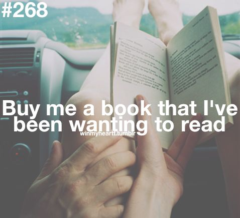 Win My Heart - Buy Me a Book That I've Been Wanting To Read❤ #Relationships #Goals #Love