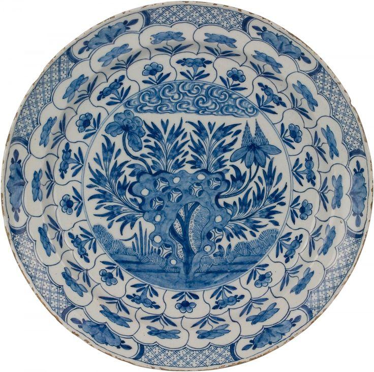 dutch ceramic plate