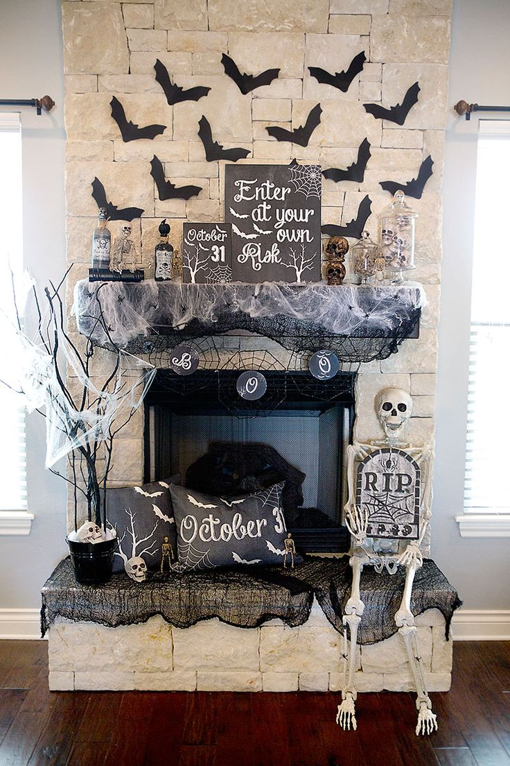 445 best Haunting images on Pinterest Halloween witches, Happy - Halloween House Decoration