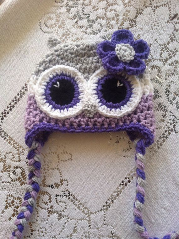 Hey, I found this really awesome Etsy listing at https://www.etsy.com/listing/165917693/newborn-owl-hat-light-grey-purple-and