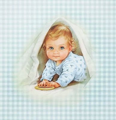 Cute dzieci dla kart do druku Darmowe, topperów lub etykiet.