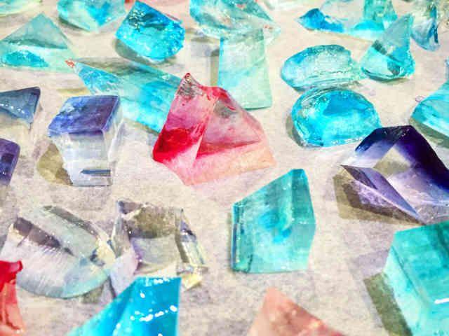 絶品 簡単 食べられる宝石 琥珀糖の画像