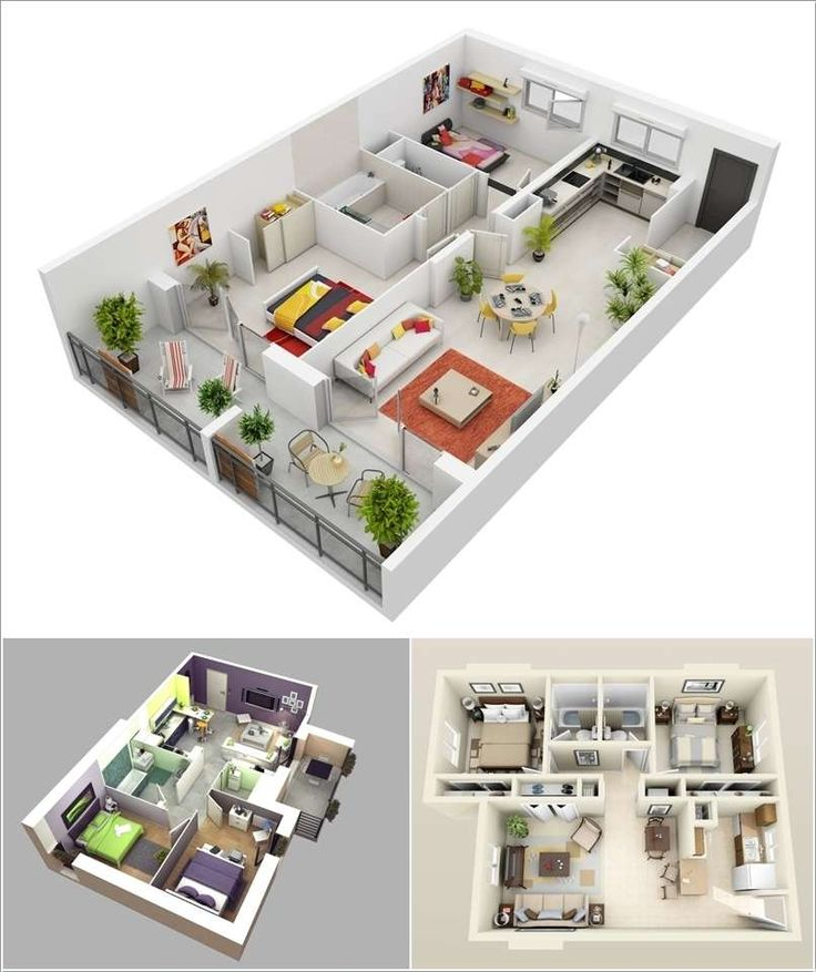 22 best fab floor plans images on pinterest 2 bedroom for Modern 2 bedroom apartment design