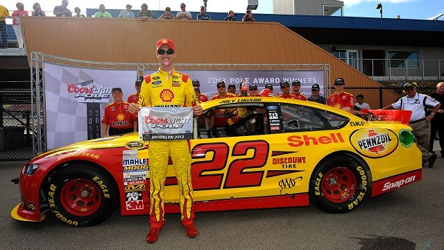 Joey Logano has the Ninth Fastest NASCAR Qualifying Lap in History