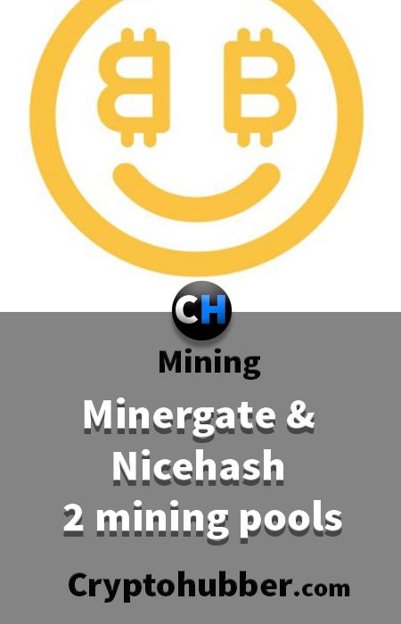 Minergate and Nicehash, 2 mining pools you must know. #minergate #nicehash #mining #tutorials #Ethereum #Bitcoin #cryptocurrency #Crypto #Blockchain #Software #market #cryptonite #Asic #Litecoin #Asics #Monero #Dash #hashrate #Rig #miningrig #hash #rate #ICO #invest #investment #coins #profit #profitability