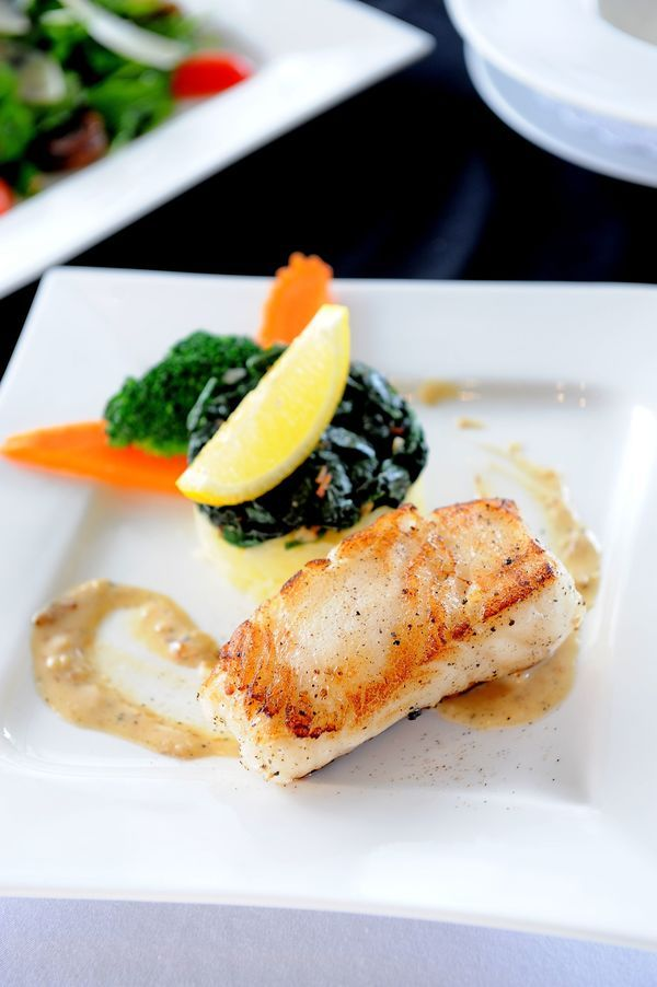 Dinner Recipe: Cod in Butter Sauce with Steeple St Chardonnay  #TTVWinePairings