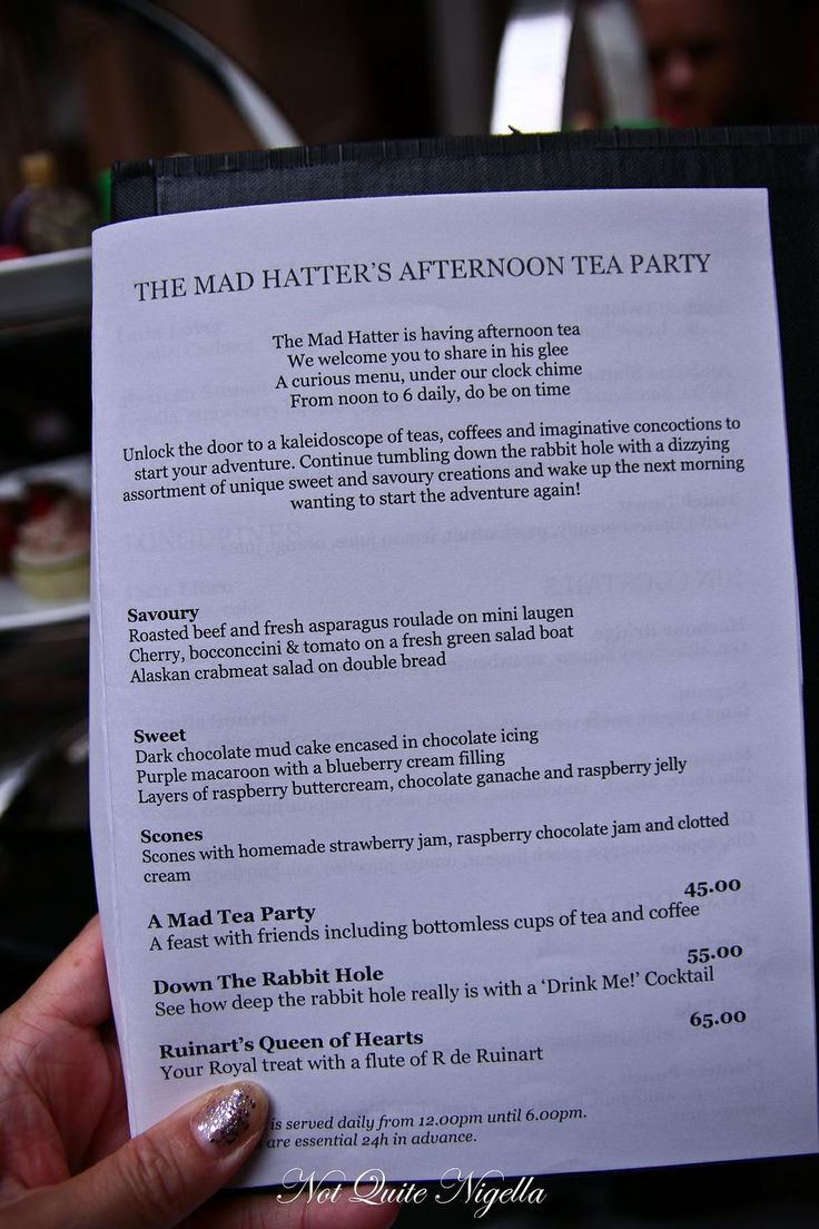 mad hatter afternoon tea the westin