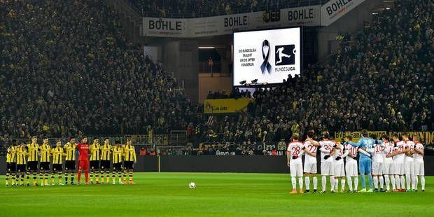 L'hommage du foot allemand aux victimes de l'attentat de Berlin
