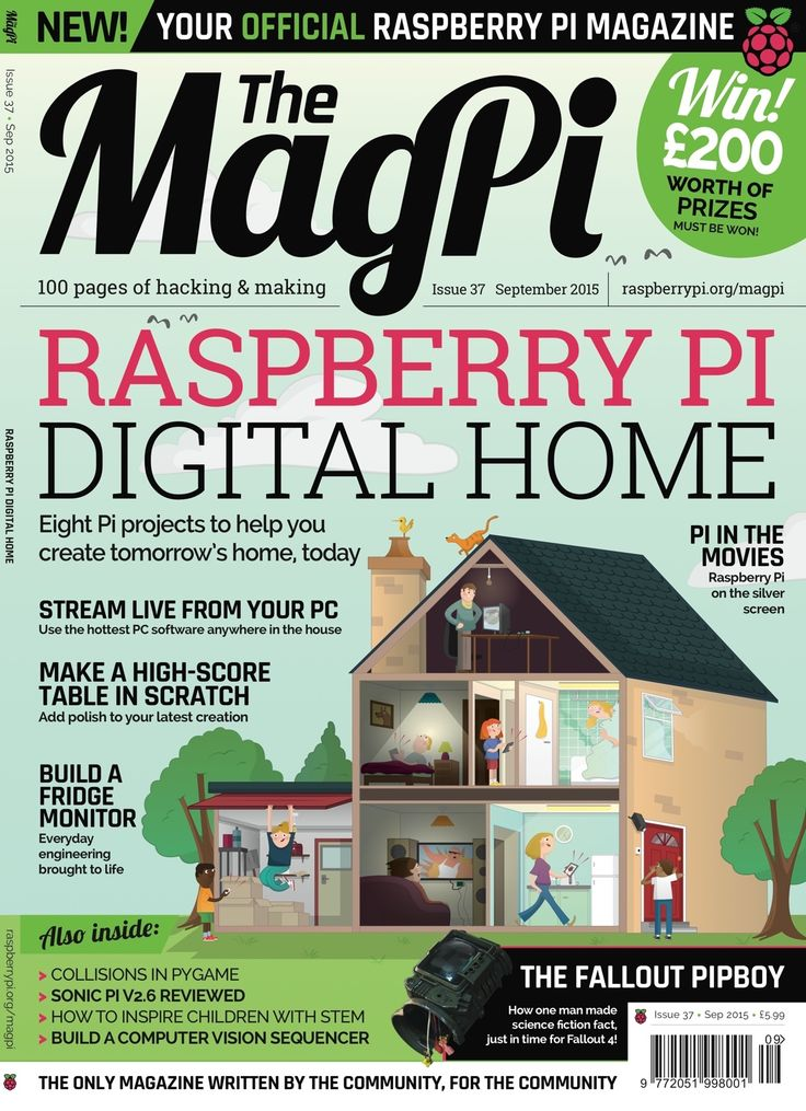"""Our article """"Raspberry Pi as low-cost HD surveillance camera"""" has been featured in the latest MagPi magazine, the official Raspberry Pi magazine! Read it online at https://www.raspberrypi.org/magpi/ or buy a printed copy at http://swag.raspberrypi.org/collections/frontpage/products/the-magpi-issue-37"""