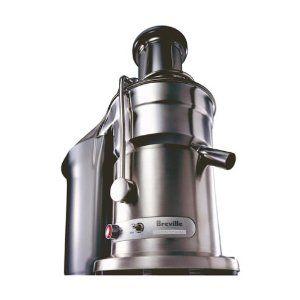 #5: Breville 800JEXL Juice Fountain Elite 1000-Watt Juice Extractor