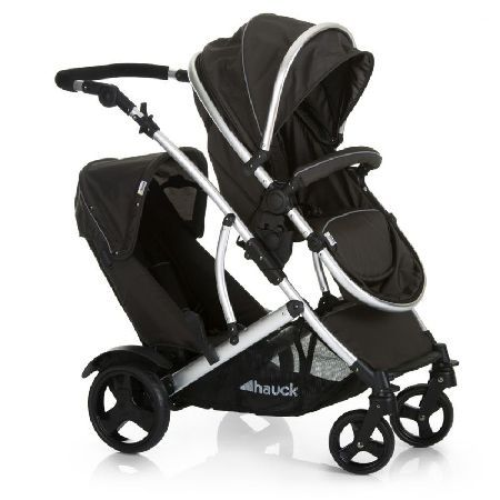 Hauck Duett 2 Tandem Pushchair-Black (New) This compact variation of a twin stroller has two stacked seats for children of different ages. Remove the lower seat and reverse the upper seat unit. Lay this flat and by releasing the strap mechanis http://www.MightGet.com/march-2017-1/hauck-duett-2-tandem-pushchair-black-new-.asp