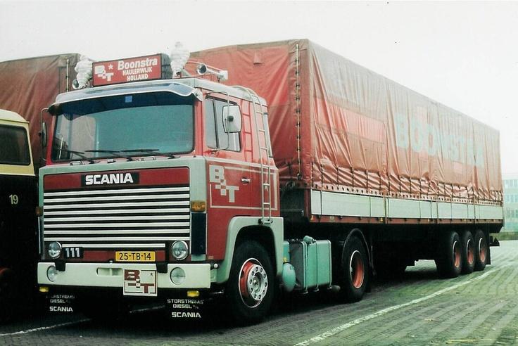 Scania 111 - Boonstra Transport