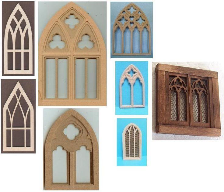 Dollhouse Windows