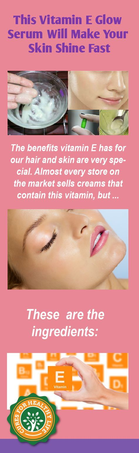 The benefits vitamin E has for our hair and skin are very special. Almost every store on the market sells creams that contain this vitamin, but they can be very expensive. Here, we're going to present you how to prepare your own vitamin E facial night serum. Only by using it for several nights, you'llContinue Reading