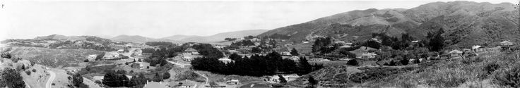 Bill ✔️  Khandallah, 1924 Panoramic negative Reference number: Pan-0503-F Photographic Archive, Alexander Turnbull Library, National Library of New Zealand  Find out more about this image from the Alexander Turnbull Library.     Bill Gibson-Patmore.  (curation & caption: @BillGP). Bill😄✔️