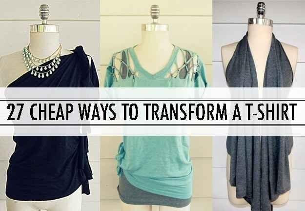 Transform a T-shirt