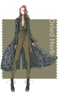 Fall 2015 - fashion colors: Dried Herb