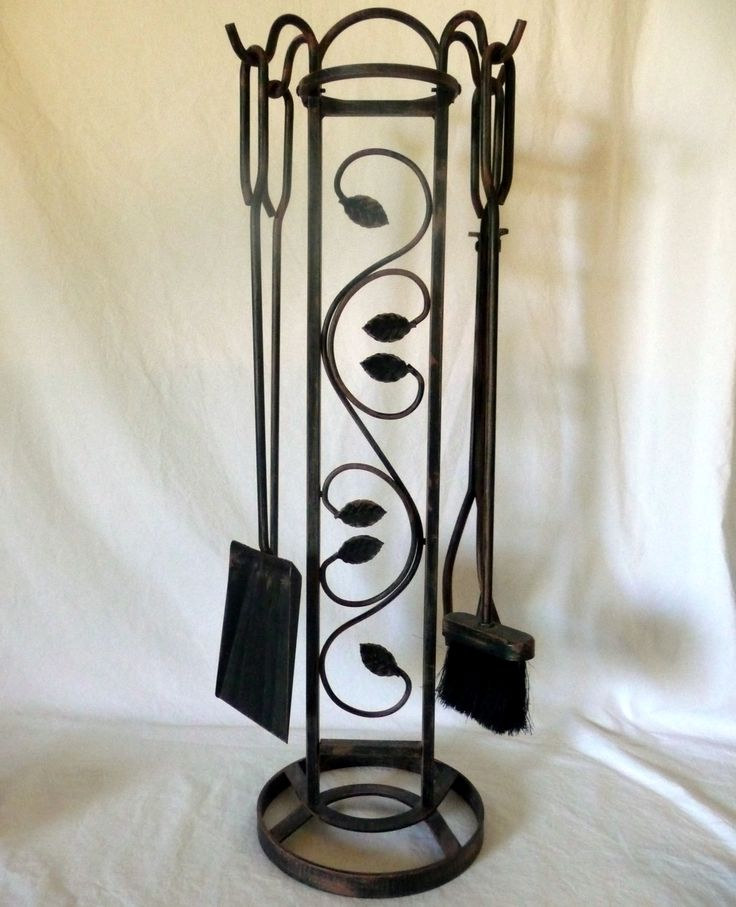 "Southwestern Decorative 5 Piece Fireplace Tool Set 32"" X 10"""