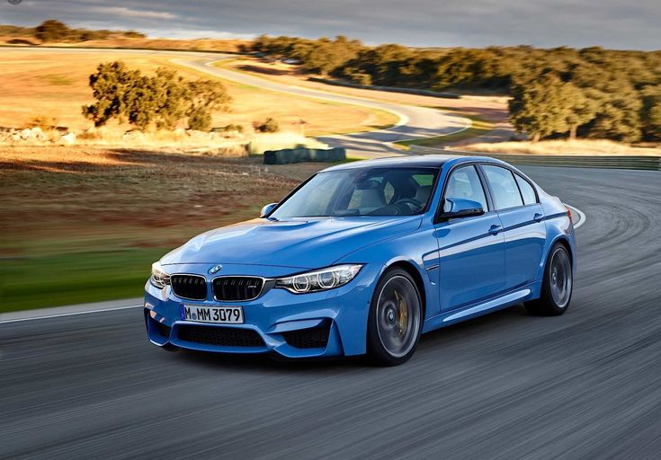 I see myself driving this beautiful periwinkle blue BMW ...