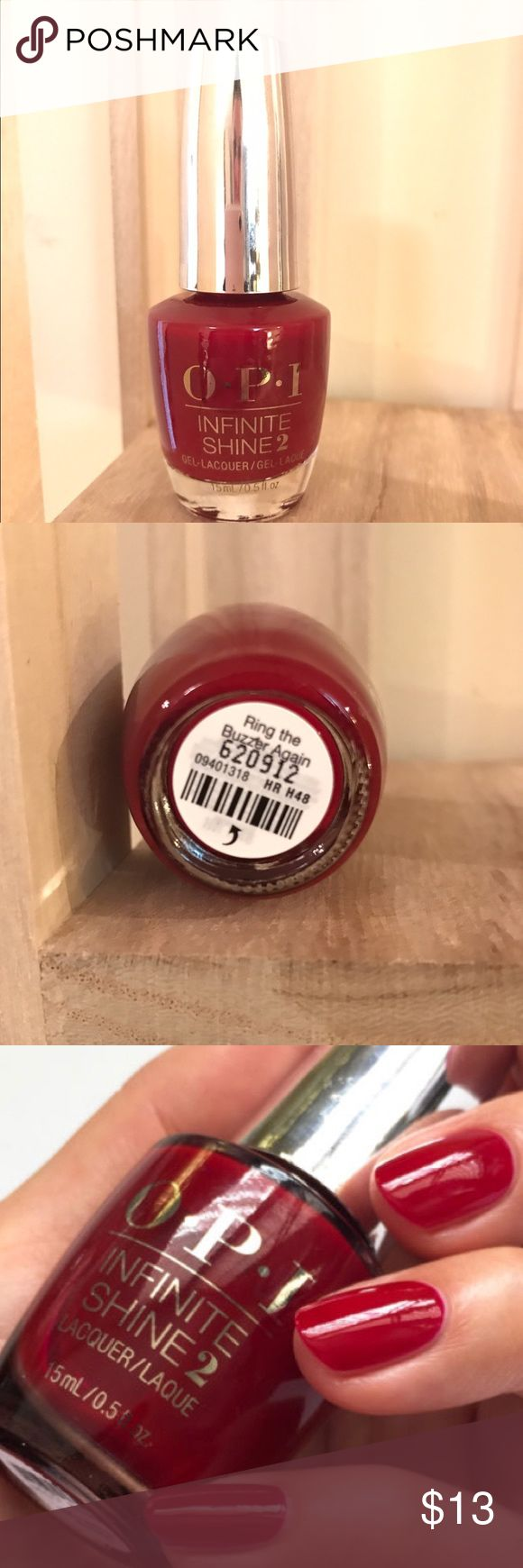🌸2 for 15 NWT OPI infinite Shine NWT OPI infinite Shine 'ring the buzzer again' breakfast at Tiffany's collection💥💥price is firm unless bundles. To get the 2 for 15 OPI deal , bundle the items you want and select bundle offer- OPI infinite Shine can be bundled with OPI color NOT OPI GelColor OPI Makeup
