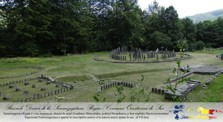 Sarmizegetusa Regia, Comuna Orastioara de Sus, Judet Hunedoara