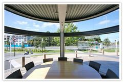 Curved Glass Shop Fronts