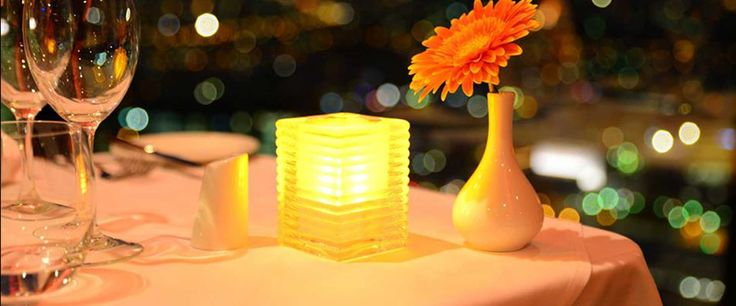 Cordless lamps, battery operated lamps, LED candles, Nomad lights
