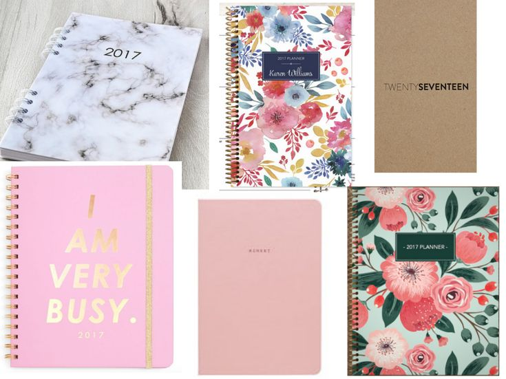 The prettiest and best planners for 2017