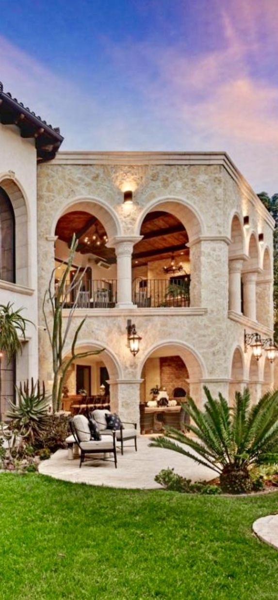 Follow City Girl At Link Https Www Pinterest Com Citygirlpideas For Great Pins And Recipes Mediterranean Homes House Exterior Spanish Style Homes