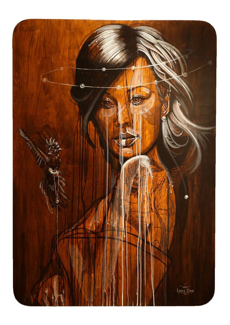 Athena - Leza One - Urban Muses - @ Evartspace Gallery