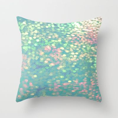 Mermaid's Purse Throw Pillow by Ally Coxon - $20.00