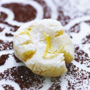 Citron marcipan med hvid chokolade opskrift