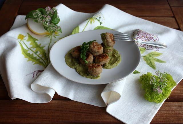 Frittomisto: cucina ed emozioni: Polpette di ricotta, prosciutto cotto e zucchine al profumo di basilico
