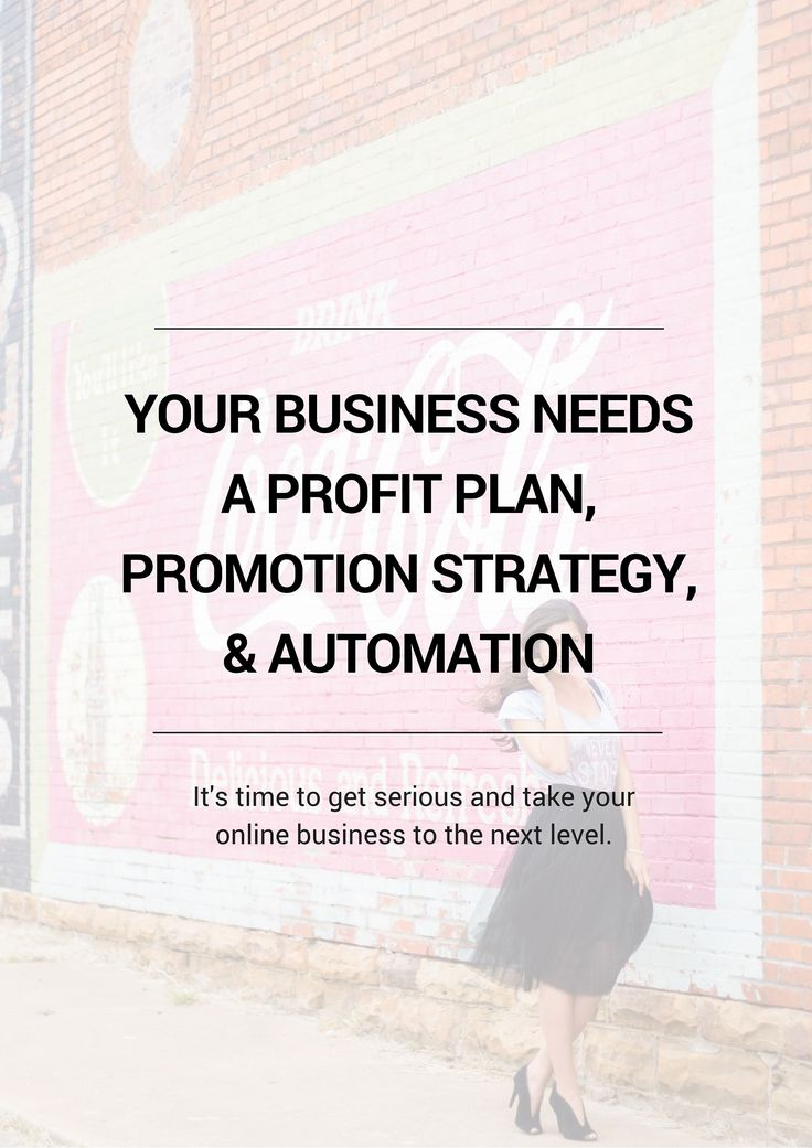 Your online business needs a profit plan, a promotion strategy to maximize sales, and automation systems put in place. It's time to get serious and take your online business to the next level. Click through! blissfulbosses.com