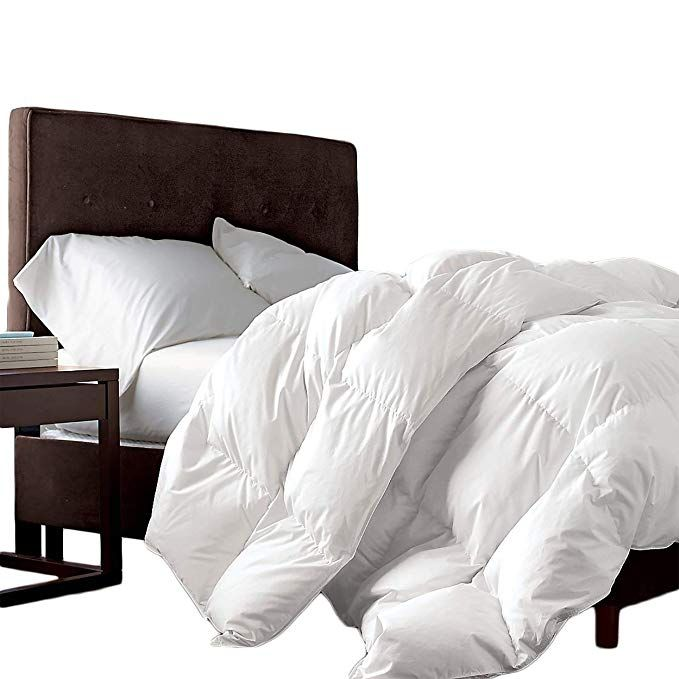 Luxurious Full Queen Size Siberian Goose Down Comforter 1200