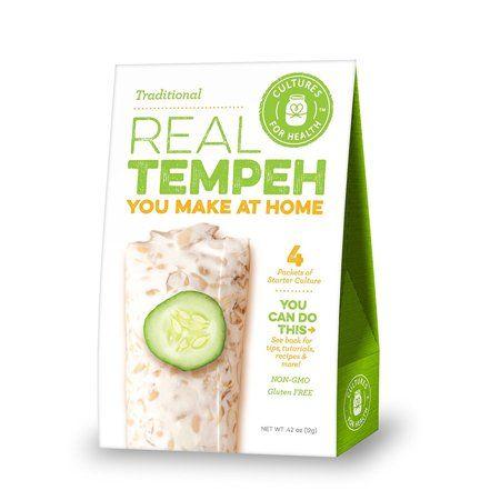 Tempeh Starter Tempeh Vegetarian Recipes Easy Real Food Recipes