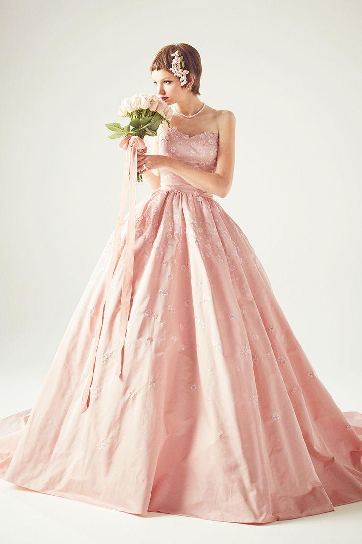 唯一無二のデザインセンス♡ピンクのプリンセスの花嫁衣装・ウェディングドレス・カラードレスまとめ一覧♡