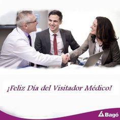 Tu conocimiento es tu fortaleza. Tu carisma es un reflejo de confianza. ¡Feliz Día del Visitador Médico! #SaludyBienestarBagó