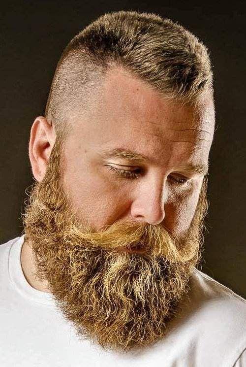Barba rubia bonita. ¿Cuál os gusta más? #modahombres #barba #estilo