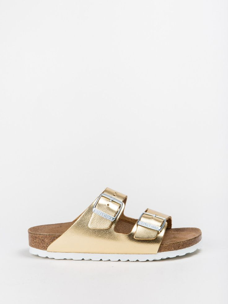 Arizona - gold. Birkenstock ArizonaMetallic LeatherCorksWardrobe ...