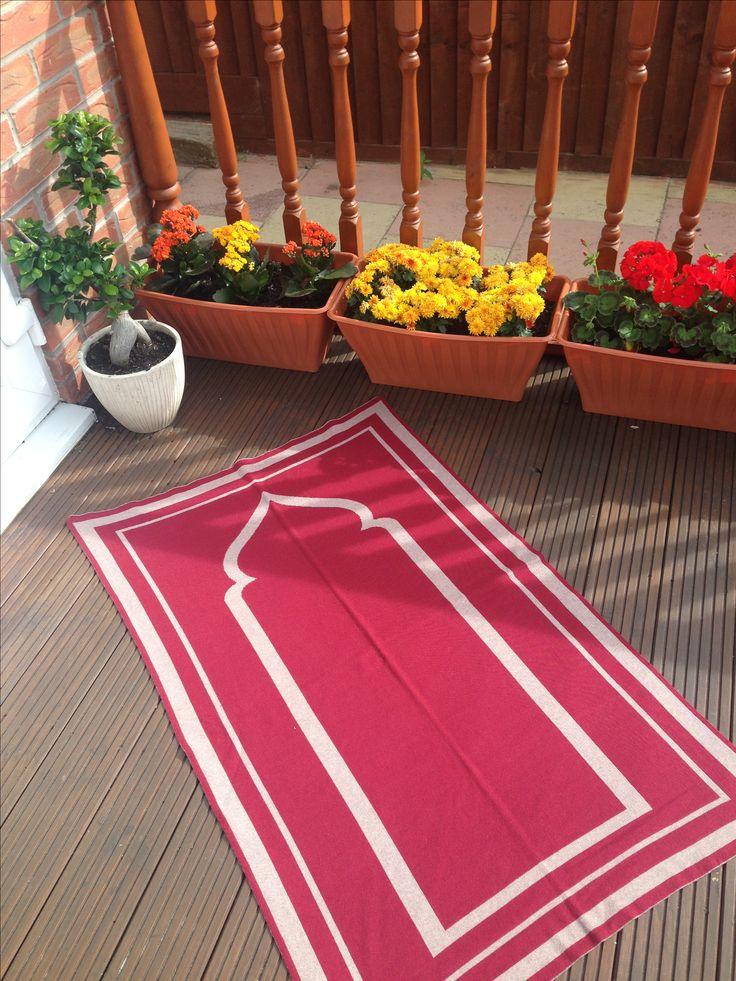 The Mariyam Prayer Mat #prayermat #prayermats #prayerrug #salah #musallah #namaaz #theprayermatcompany #britishmade #designerprayermat