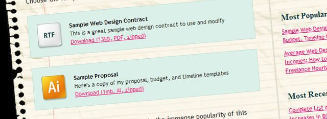 Sample Web Design Contract by Shawn Adrian from QuoteRobot