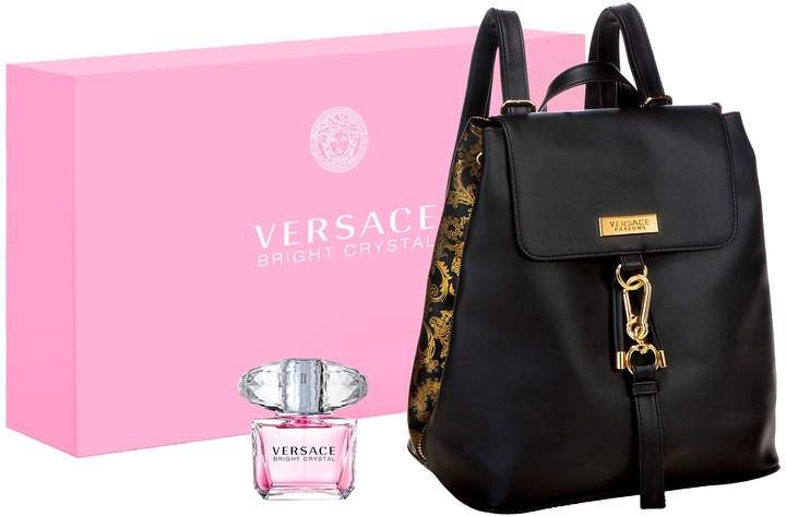 Versace Bright Crystal Backpack Set Versace Bright Crystal Popular Handbags Versace