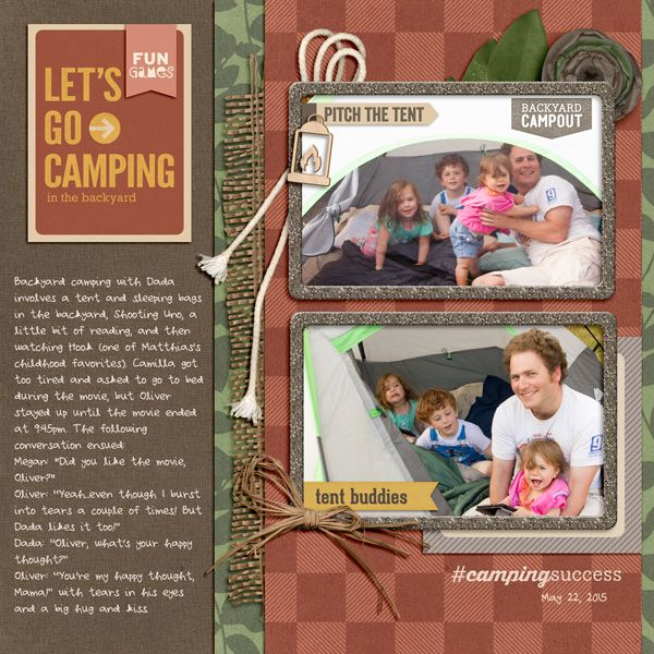 Roughing It Kit from peppermintcreative.com | page by @glumirk #camping