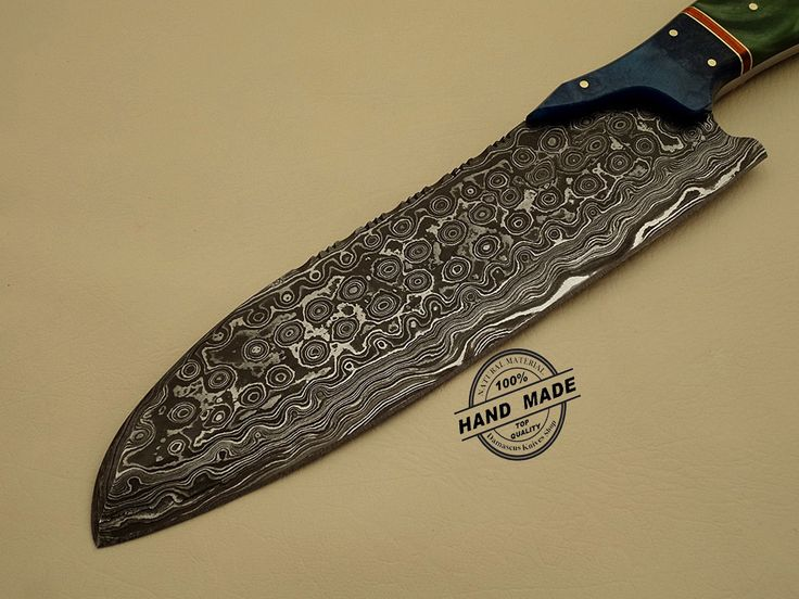 Kitchen Knife Custom Handmade Damascus Steel Chefa Chefs