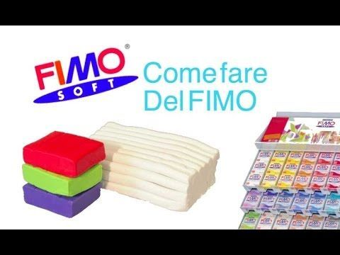 FIMO fai da te come fare del FIMO how to make polymer clay DIY - YouTube