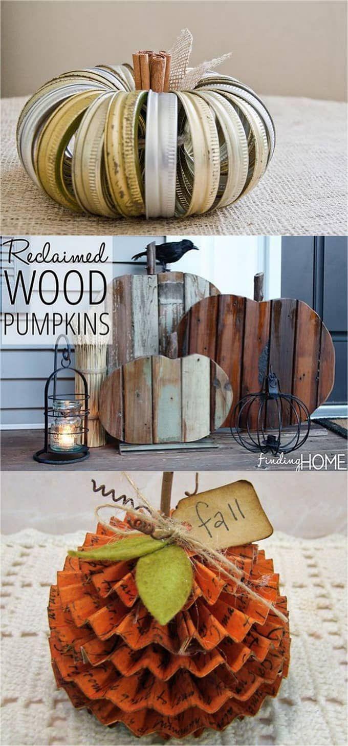 Best 25+ Pumpkin decorations ideas only on Pinterest | Pumpkin ...